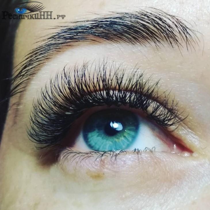 голубой глаз объем 2 D